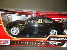 Motormax BMW M3 Coupe E92 Black 1/18 Minor Paint chips