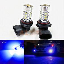 2x Blue 9006 15w High Power Bright LED Bulbs 5730 15-SMD Fog light/Driving Light