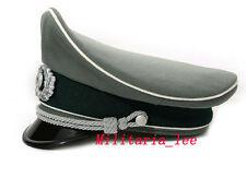 WW2 German Repro Heer Officer Gabardine Visor Cap All Sizes