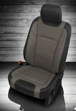 2015-2018 Ford F-150 XLT Super Crew KATZKIN Leather Seats NEW LIMITED Black Gray