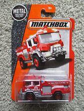Matchbox BLAZE BLITZER ☆Red Fire Truck☆Wilton Fire Dept☆Heroic Rescue 2016 NEW