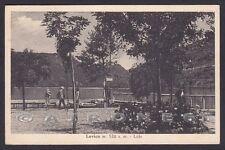 TRENTO LEVICO TERME 51 LIDO Cartolina viaggiata 1942