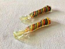 Glass Chillum One Hitter Bowl Hand Blown Multi Color Swirl Glass Tobacco Pipe