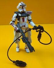 STAR WARS ™ Hasbro ROTS Clone Trooper Commander Red Figure