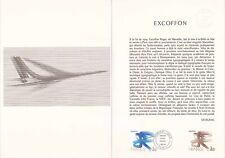 Document philatélique 47-77 1er jour 1977 Roger Excoffon Peintre