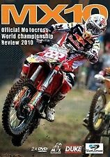 MX10 - WORLD MX CHAMPIONSHIP REVIEW 2010 (2 DVD Set) Brand New FREE POSTAGE