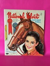 Vintage 1961 MGM's 'National Velvet' Cut Out Doll & Clothes Booklet by Whitman