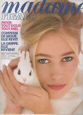 madame FIGARO 03/11/1990 jeanne moreau linda thorson