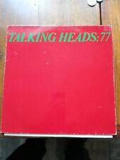 Talking Heads . Talking Heads 77. Vinyl Album Lovely Copy