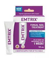Emtrix Triple Action Anti-Fungal Fungal Nail Treatment 10ml FREE EXPRESS POSTAGE