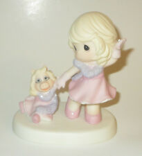 Our Friendship Is Fabulous Precious Moments Figurine Miss Piggy Muppets NWOB
