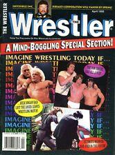 HULK HOGAN The Wrester Magazine April 1995 RIC FLAIR/VON ERICH/UNDERTAKER