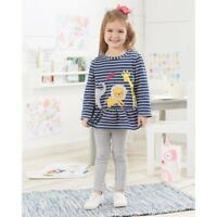 Mud Pie Little Girls Pink Unicorn Princess Cardigan Sweater Large 4-5 Toddler