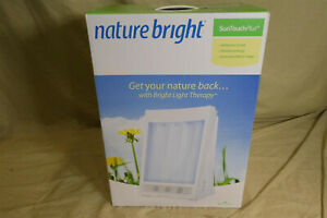 Nature Bright SunTouch Plus 10,000 LUX Bright Light Therapy Lamp - NEW IN BOX