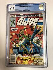 GI Joe A Real American Hero (1982) # 1 (CGC 9.6 WP) | 1st App Hasbro | Newsstand