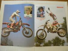 A508-DAVE STRIJBOS WORLDCHAMPION 125 CC MX MOTOCROSS POSTER 1986 ? JOHN VD BERK