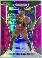 2019-20 Panini Kevin Porter Jr. Silver Prizm Purple Rookie Card RC Houston🚀🔥📈