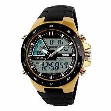 Reloj de pulsera analógico deportivo digital para hombre con fecha digital