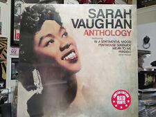 SARAH VAUGHAN - ANTHOLOGY Red Vinyl LP Sophisticated Lady Perdido