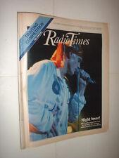 27/8 1983 RADIO TIMES magazine ROCK MIDNIGHT OIL DURAN DURAN