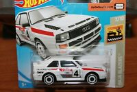 AUDI - QUATTRO SPORT BIANCA - 1984 - HOT WHEELS - SCALA 1/64