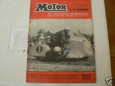 MO5529 WILLI FAUST,KARL REMMERT BMW SIDECAR DUTCH TT ASSEN 1955 RACE,MURNAU FIM,