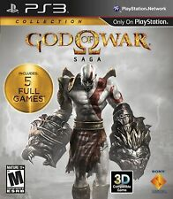 God Of War Saga Collection ( Sony PlayStation 3) Excellent Condition!