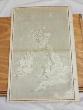 1819 Antique Map/Britannia Romana Cum Hibernia