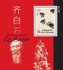 Grenada - 2014 Qi Baishi Stamp - Souvenir Sheet MNH