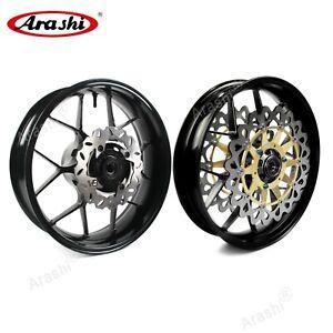 For HONDA CBR1000RR 2006-2016 Wheel Rims Brake Disc Rotors CBR 1000 RR 2015 2014