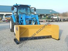 Snow Pusher, 10' Global Quick Attach, Rubber Edge,3'X3',3.75 yd Cap! Sale Priced!