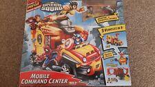 Marvel Super Hero Squad Mobile Command Centre  (Wolverine & Motorbike included)