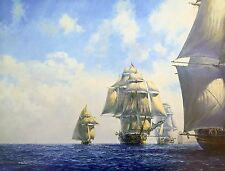 Geoff Hunt Limited Edition Print - The Commodore