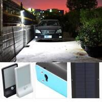 36 LED Bright Solar Power Light Motion Sensor Garden Outdoor White&Black