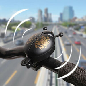 Bike Handlebar Alarm Cycling Accessories Warning Ladybird Horn Bicycle Bell HOT