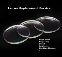 Lenses Replacement Service for Our Rimless Eyeglass Glasses Frames Harden E84