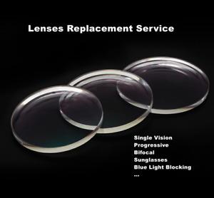 Lenses Replacement Service for Our Rimless Eyeglass Glasses Frames Harden E84