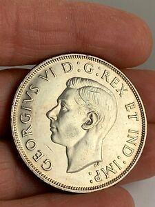 1947 Canada Silver $1 Dollar w/ Pointed 7  KM #37  Key Date  ***NO RESERVE***