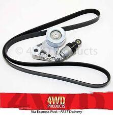 Drive Belt Tensioner&Pulley/Belt SET-for Nissan Patrol GU 3.0TDi ZD30 CRDi (07+)