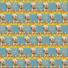 dotcomgiftshop 5 Sheets of Birthday Chef Wrapping Paper. Retro Gift Wrap
