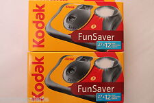 2 Appareils photos jetables Fun Flash pellicules Kodak 39 vues Neuf le top !