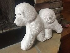 Bichon Frise bread. Out side yard sign. Show Love for your pets