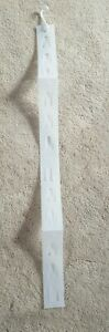 Clip Strips Merchandising Hanging Strips Frost white Clip Strips 550mm Long