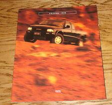 Original 1996 GMC Sonoma Sales Brochure 96