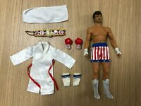 Hot Toys MMS 19 Rocky IV Rocky Balboa Sylvester Stallone 1/6 Figure USED
