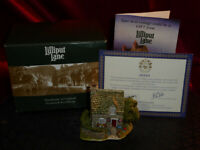 LILLIPUT LANE Fuchsia Cottage 001 English Collection SW Model House Boxed + deed