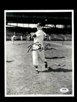 Tim McCarver PSA DNA Coa Hand Signed 8x10 Photo Autograph