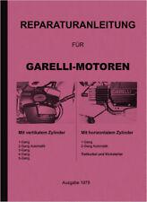 Garelli Motor 1 2 3 4 5 Gang Automatik Reparaturanleitung Werkstatthandbuch 1978