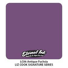 Genuine Eternal Tattoo Ink - Antique Fuchsia - Expired But Brand New 2oz (60ml)