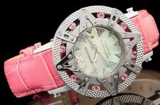 New Ladies Xoskeleton Superlative Star Ladies Swiss Exotic Pink Topaz Watch